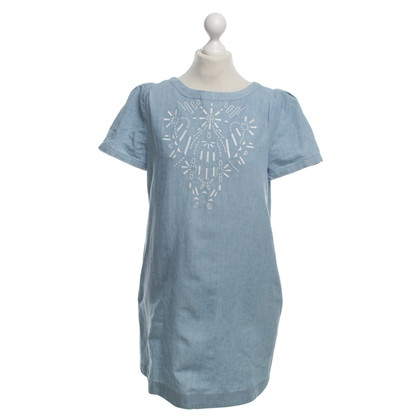 Vanessa Bruno Denim dress with embroidery