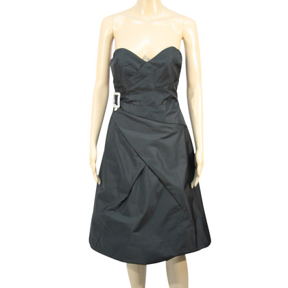 Karen Millen Bandeau-jurk in zwart