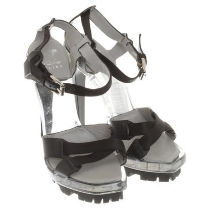 Céline Sandals in black