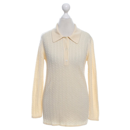 Aquascutum Knit sweater in yellow