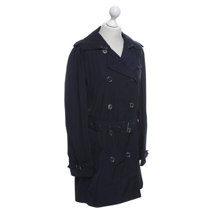 Burberry Blauer Trenchcoat