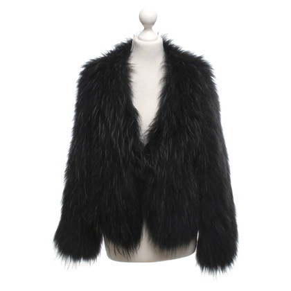 Other Designer Fur jacket in black