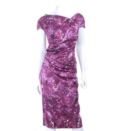 Talbot Runhof Kleid mit Muster