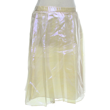 Moschino skirt in holographic optics