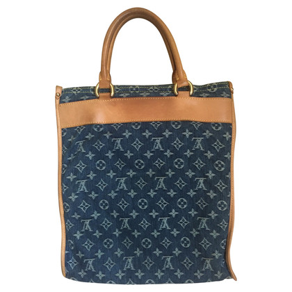 Louis Vuitton Sac Plat denim