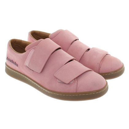 Acne Sneakers in rosa antico