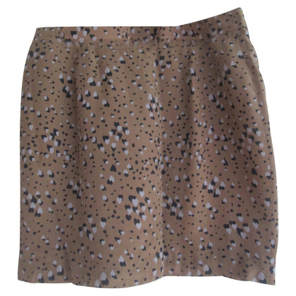 Twenty8Twelve short silk skirt
