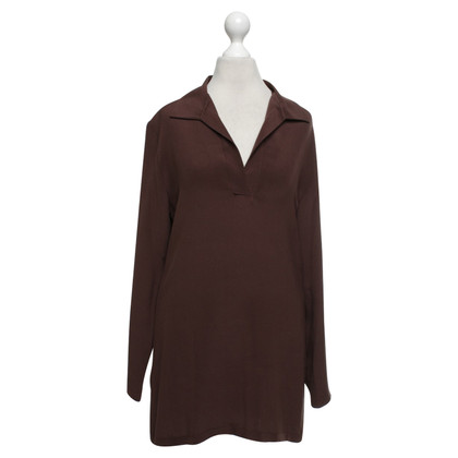 Equipment Long sleeve shirt in brown