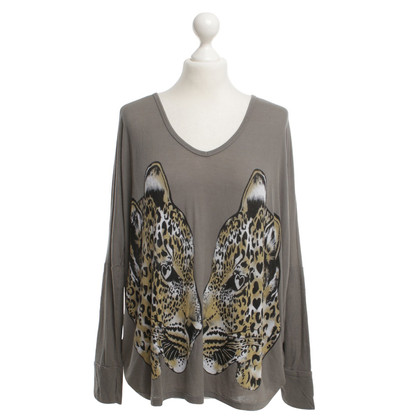 Lauren Moshi top with animal print