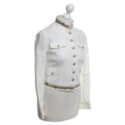 Blumarine Blazer in creamy white
