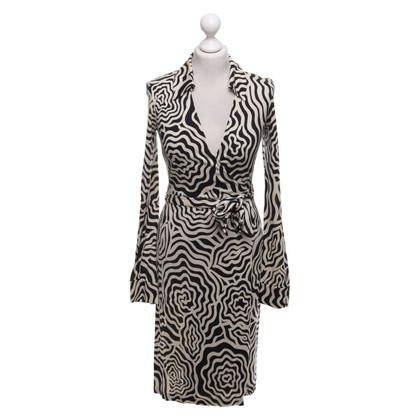 """Diane von Furstenberg Dress """"Jeanne"""" with pattern"""