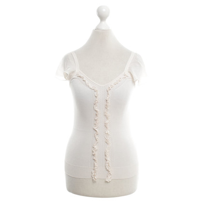 Valentino Top met ruches