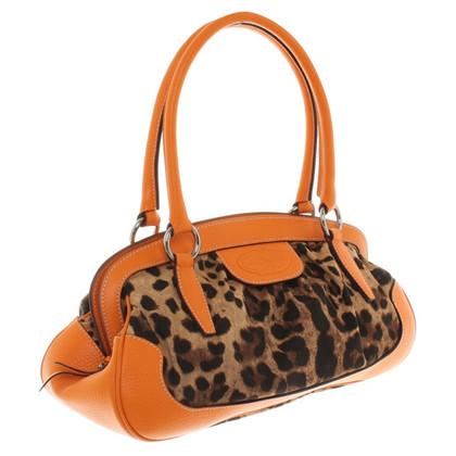 Dolce & Gabbana Handbag with Animalprint