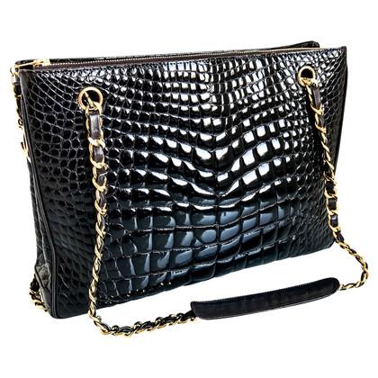 Chanel Shoulder bag made of crocodile leather