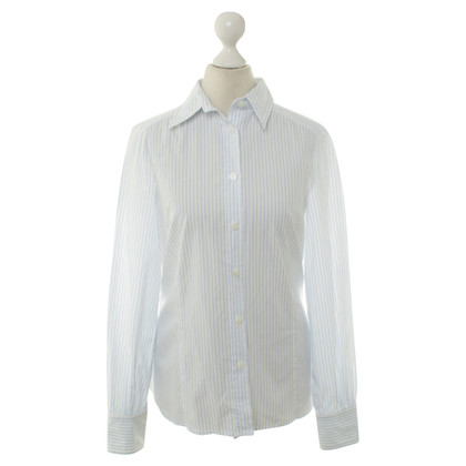 Aigner Blouse in white/blue