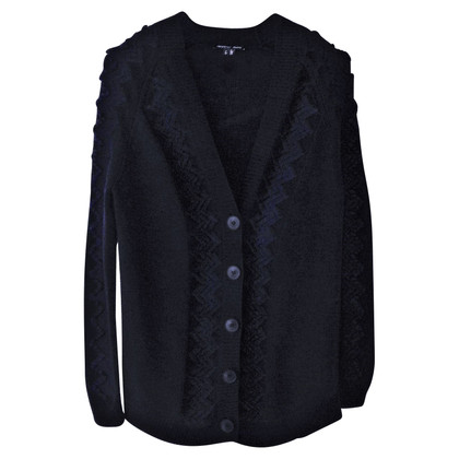 Theyskens' Theory Cardigan blu scuro
