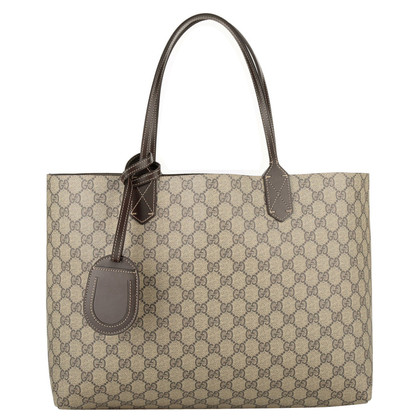 "Gucci ""GG Reversible Leather Tote"""