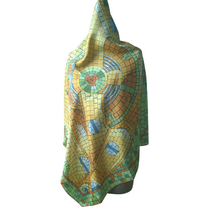 Rolex silk carré scarf