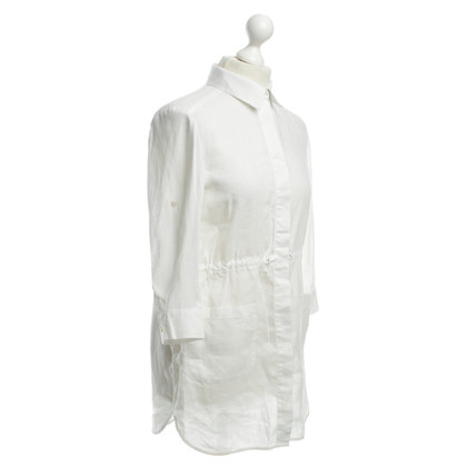 Max Mara Linen blouse in white