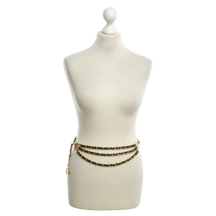 Chanel Gold-colored chain belt