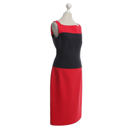 Michael Kors Kleid in Rot/Blau