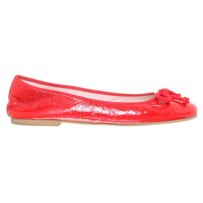 Pretty Ballerinas Lakleder Ballerina's in het rood