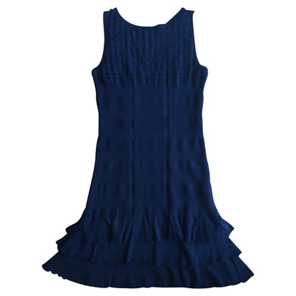 Roberto Cavalli Blue viscose dress measures 44 IT