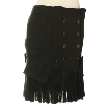 John Galliano skirt in black