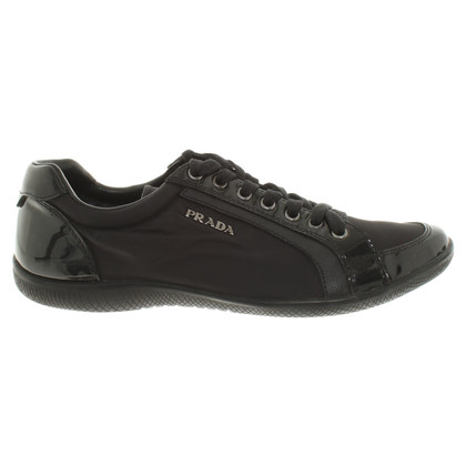 Prada Elegant sneakers in black