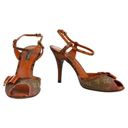 Louis Vuitton Karung Richard Prince Grappen Peep Toes