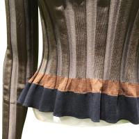 Nina Ricci Contrast panel Stretch jersey sweater