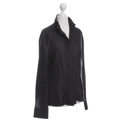 Jil Sander Silk blouse in black