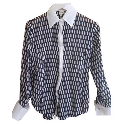 Ferre Peplum blouse in silk