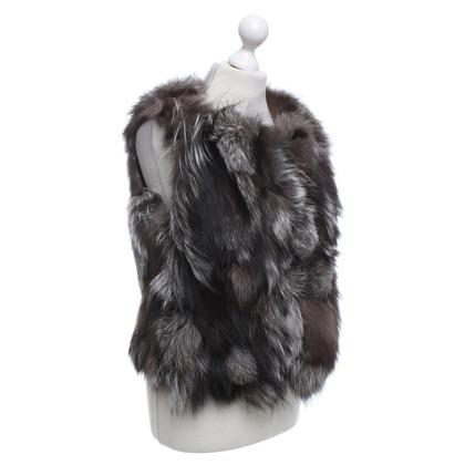 Altre marche Essentiel - gilet di pelliccia di volpe