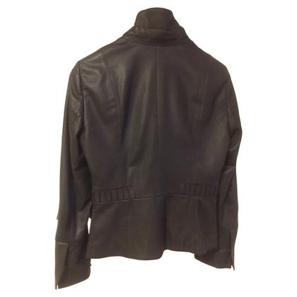 Marc Cain Leather Blazer