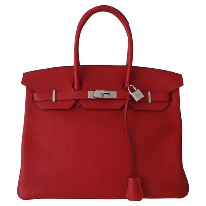 Hermès SAC HERMES BIRKIN ROUGE