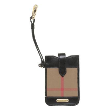 Burberry tasca del telefono mobile con Nova Check modello