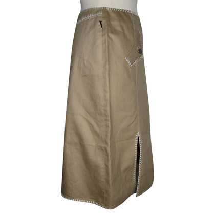 Moschino Love Skirt with contrast stitching