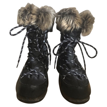 Moon Boot Moon boots with fur trim