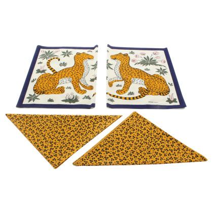 Hermès Table set with napkins