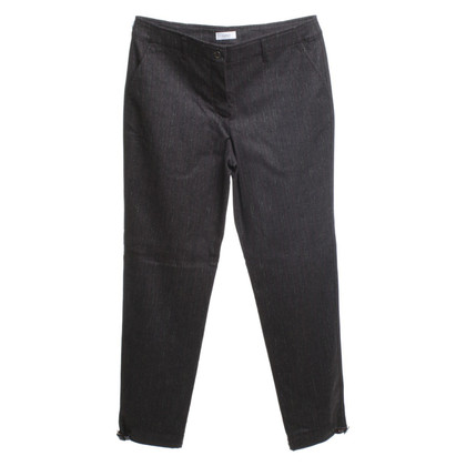Gunex Flannel trousers in dark brown