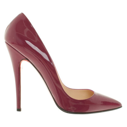 Christian Louboutin Pumps aus Lackleder