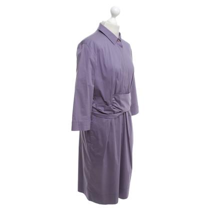 René Lezard Dress in purple