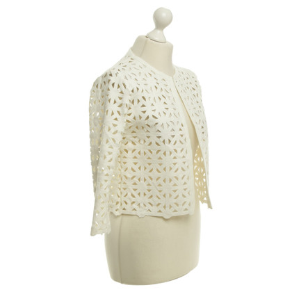 Autres marques Vingt-29 - veste avec un motif en dentelle