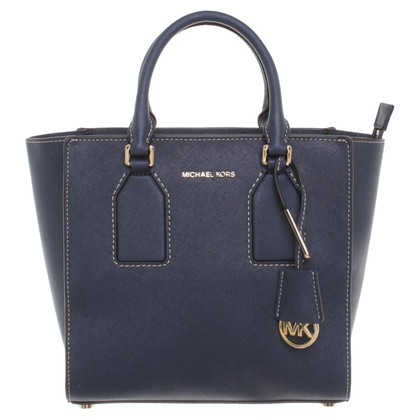 "Michael Kors ""MD Selby Satchel Navy"""