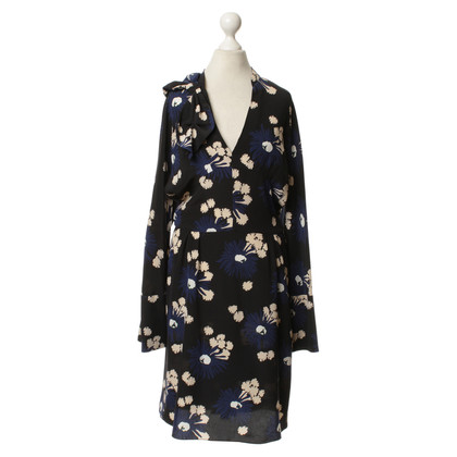 Marni Silk dress with pattern