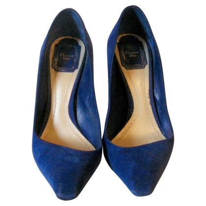 Christian Dior Pumps in Blau