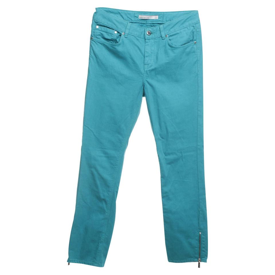 Karen Millen Jeans in Türkis