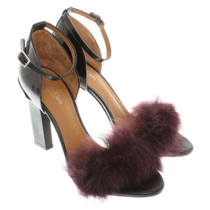 Calvin Klein Sandals with fur