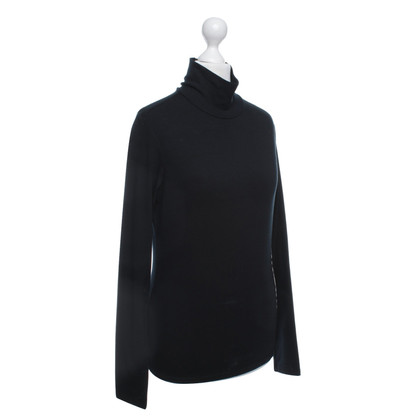 Burberry Roll collar sweater in black